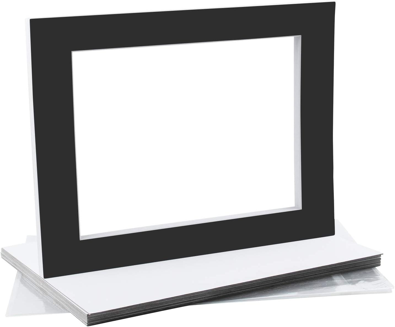 MBC MAT BOARD Ranking TOP7 CENTER Pack of Pre-Cut Manufacturer regenerated product Ma 10-11x14 8.5x11 Black -