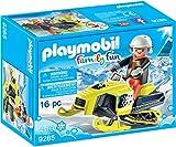 PLAYMOBIL- Moto de Nieve, única (9285)