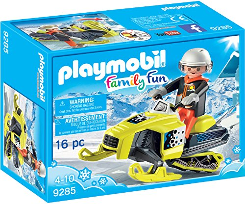 Playmobil Family Fun 9285 - Motoslitta, dai 4 anni