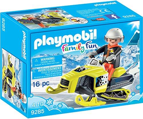 PLAYMOBIL Snowmobile Building Set
