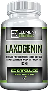 LAXOGENIN (60 mg) by Element Nutraceuticals