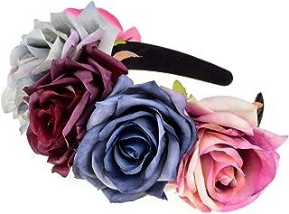 Custom Mexican Flower Crown Day of The Dead Hawaiian Boho Frida Floral