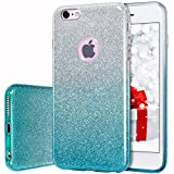 MILPROX Coque iPhone 6s, iPhone 6 Bling Glitter Coque Paillettes Extrêmement Mince 3...