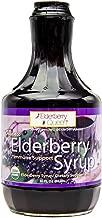 Organic Elderberry Liquid Syrup 30 oz by Elderberry Queen, Sambucus, Aronia Berry, Pure Natural Certified Organic Immune Support Herbal Supplement