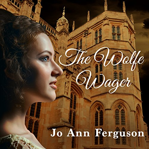 The Wolfe Wager audiobook cover art