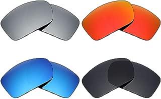 Fire Orange Polarized IKON Replacement Lenses For Costa Del Mar Cortez