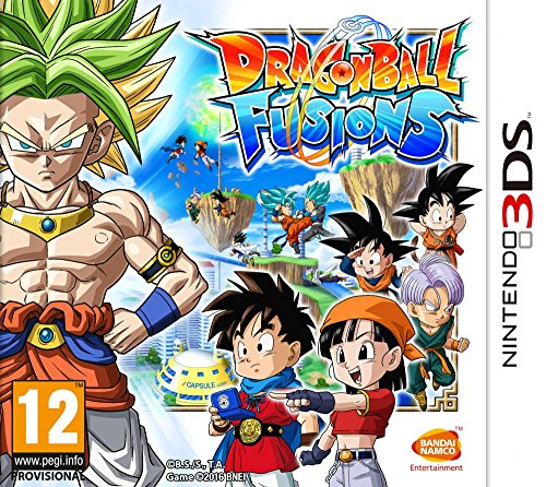 DRAGON BALL FUSIONS 3DS FR