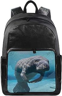 Lustiger Rucksack mit süßem Meerestier, Schultertasche, Wandern, Camping, Tagesrucksack, Schule, Reisen, Computertasche fü...