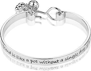 Disney Couture Kingdom Winnie The Pooh White Gold-Plated Friendship Bracelet