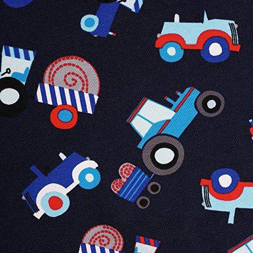 (14,99€/m) Traktor - Jersey Stoff mit Traktor Print, Little Darling Kollektion - Meterware