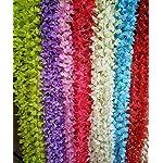 calcifer-7087-set-of-10-artificial-wisteria-string-hanging-silk-flower-string-for-garden-diy-living-room-hanging-flower-plant-vine-home-party-wedding-simulation-decor-light-green