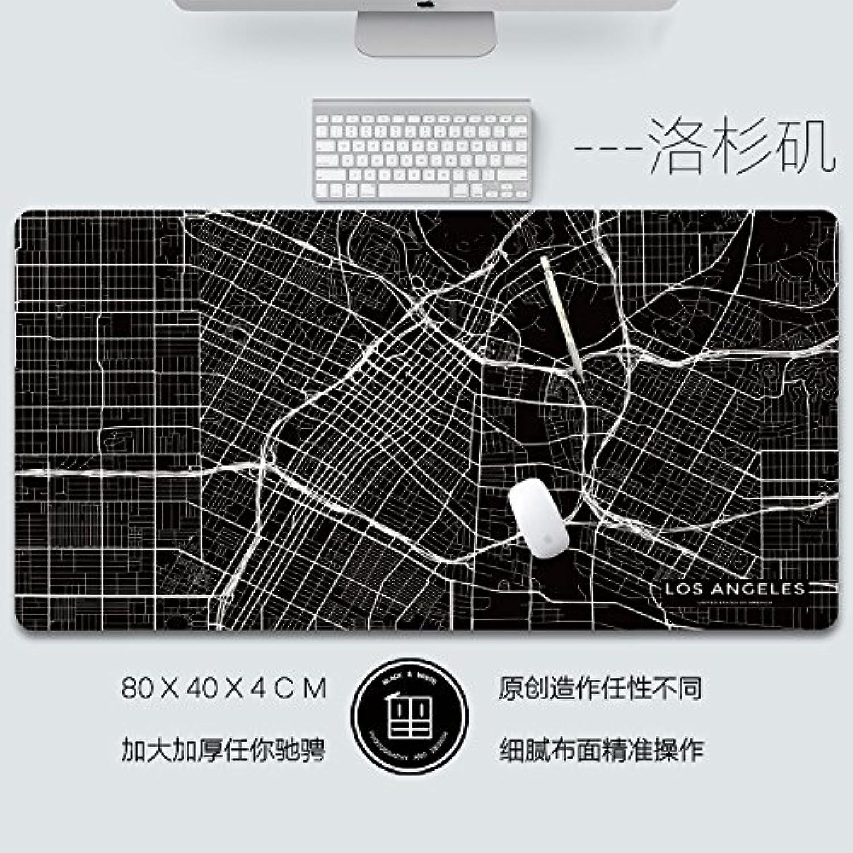 Mauspads Gaming Mauspads Original Map Design, Mouse Pad Verdickung, Super grosse Wasserdichte Büro Haushalt Tabelle Mat B07CKNYLNP   | Sale Online Shop