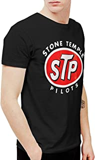 BowersJ Stone Temple Pilots Logo Men's T-Shirts Black