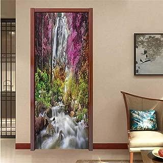 3D Waterfall 704 Stair Risers Decoration Photo Mural Vinyl Decal Wallpaper CA