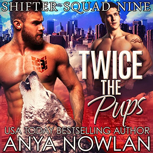 Twice the Pups audiobook cover art