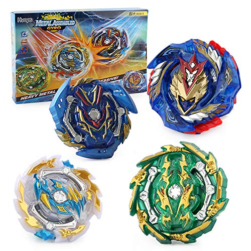 Burst Blade Battle Latest Set -- Complete Set with 4pc and Battling Tops, & Launchers