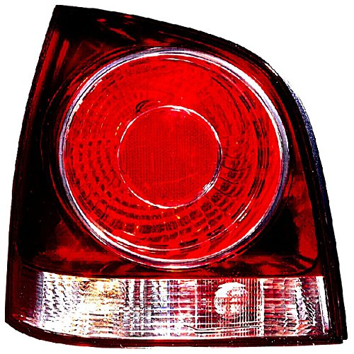 Iparlux 16914251 – Piloto Trasero Izquierdo, Con Portalámparas, Blanco–Rojo, Fondo Rojo