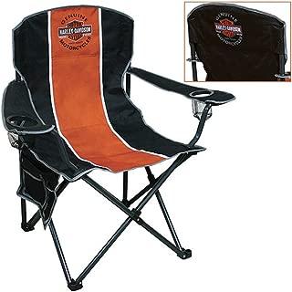Harley-Davidson Long Bar & Shield Camping Chair