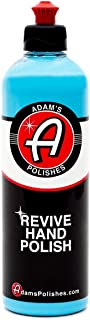 Adam's Revive Hand Car Polish 16oz - Adds Depth, Gloss and Clarity - Revive Your Finish by Hand