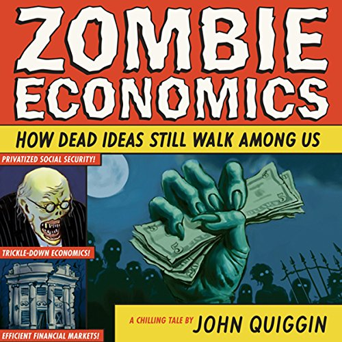 Zombie Economics audiobook cover art
