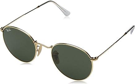 Ray Ban Erkek Güneş Gözlükleri 0RB ROUND METAL 001 50, ARISTA\CRYSTALGREEN,