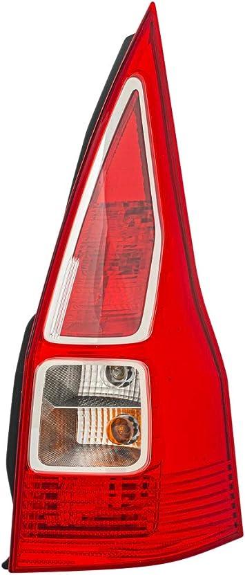 Hella 2vp 982 006 021 Heckleuchte Glühlampen Technologie Glasklar Rot Rechts Auto
