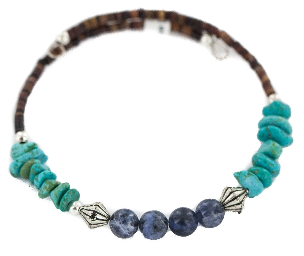 Navajo Certified Authentic Natural American Heishi Native Lapis Recommended Popular overseas