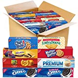 12 convenience-size boxes of assorted snack crackers and cookies: 2 each of OREO Original and OREO Double Stuf, CHIPS AHOY!, and RITZ, 1 each of Nutter Butter, Fig Newtons, Lorna Doone, and Premium. Can't decide between sweet or savory? Enjoy both wi...