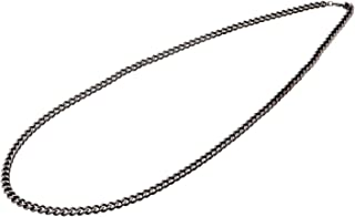 Phiten Titanio carbonizado Cadena Collar, 66cm