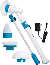 Power Spin Scrubber Cleaning Brush - Upgraded Electric Scrubber with 3 Brush Heads, Extension Handle, Rechargeable Battery...
