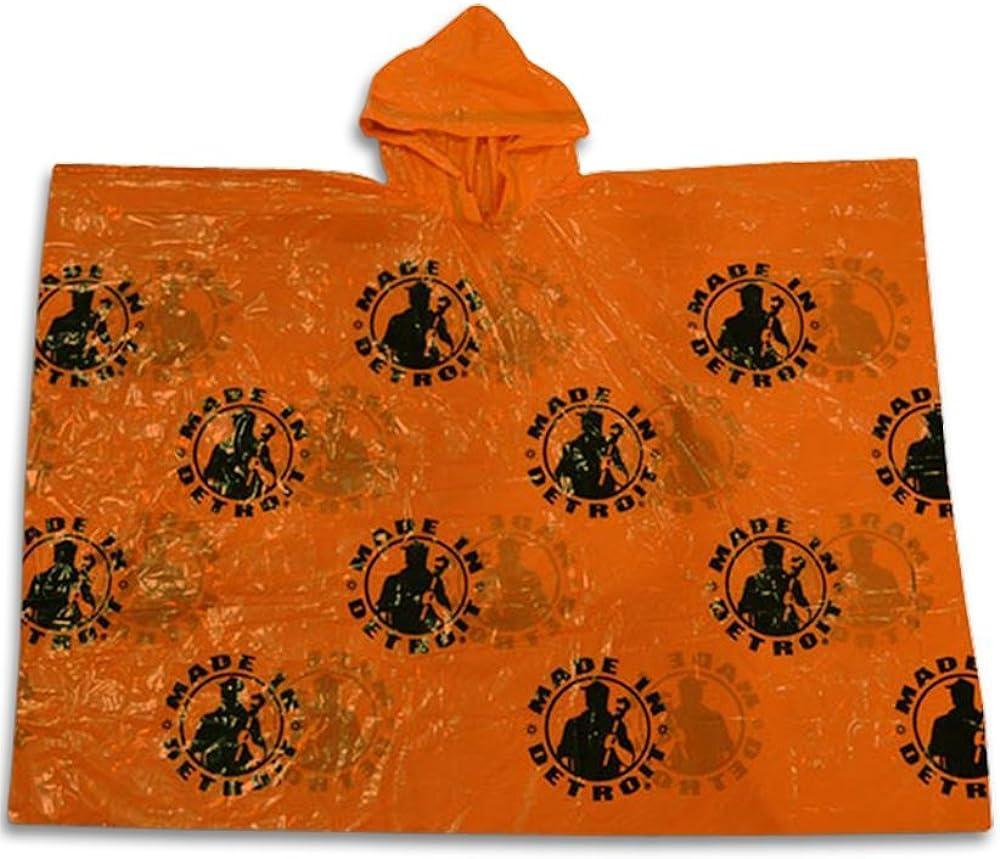 Made In Detroit MID Poncho - Orange