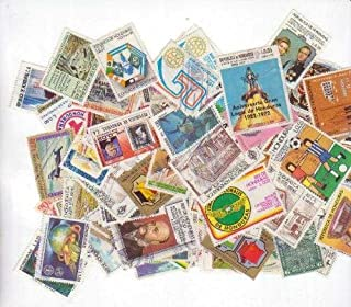 25 Honduras All Different Stamps