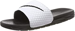 Best nike solarsoft slide black white mens Reviews