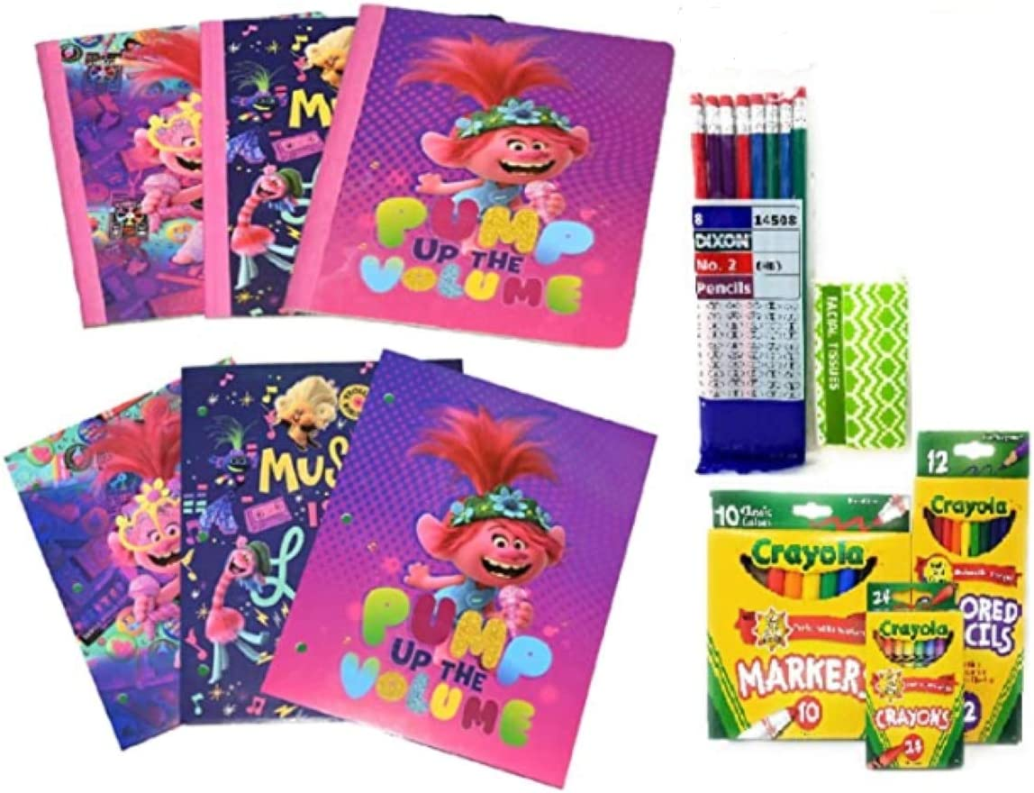 Tampa Mall Back High quality to School Bundle 2 Composition Pocket Folders Notebooks