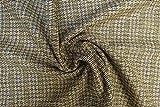 Lady McElroy Woll-Tweed-Beschichtung, Braun, Meterware