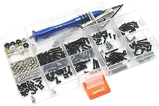 SM SunniMix Kit de vis RC Assortiment Ensemble Fixations matérielles pour WLtoys 1/18 184001 A969 camions RC Accessoires d...