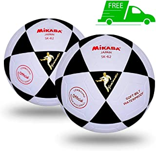 Mikasa SK62 Futsal Indoor Soccer Official Size 2 Pack