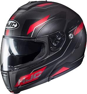 HJC Flow Men's CL-MAX 3 Modular Street Motorcycle Helmet - MC-1SF / Large