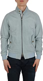 Baracuta Luxury Fashion Mens BRCPS0573UT1132330 Light Blue Outerwear Jacket | Spring Summer 20