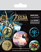 The Legend Of Zelda: Breath Of The Wild - Badge Pack The Climb