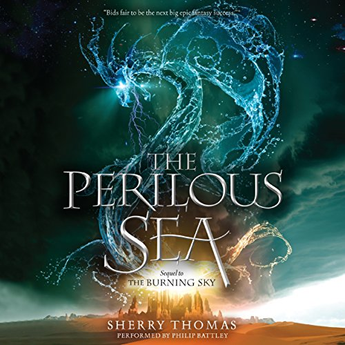 The Perilous Sea audiobook cover art