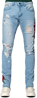 Young and Reckless - Rosebud Tapered Jeans - Blue - - Mens - Denim -
