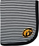 Creative Knitwear University of Iowa Hawkeyes Collegiate Striped Baby and Toddler Blanket