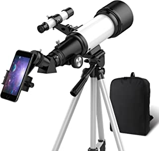 OYS Telescope, Telescopes for Adults, 70mm Aperture 400mm...