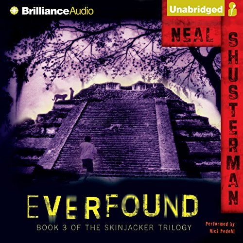 Everfound audiobook cover art