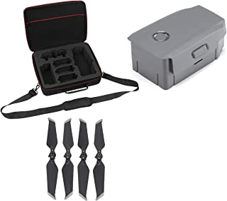 DJI Mavic 2 Intelligent Flight Battery Bundle with Professional Carrying Case and 2 Pairs Propellers for Mavic 2