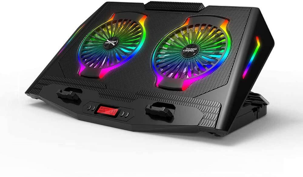 XUBIAODIAN Laptop Cooling Pad Gaming with 2 Fresno Max 80% OFF Mall Cooler Fans