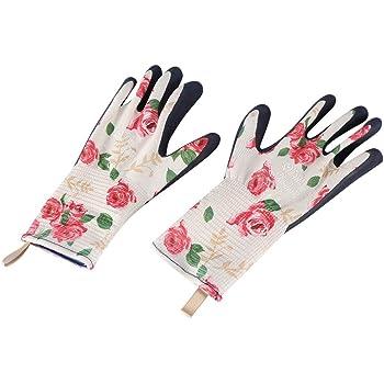 multifunzione in pelle di capra di alta qualit/à Vgo 1 paio, 8//M, bianca, GA9658 giardinaggio rosa e cactus guanti da giardino rosa e lavoro