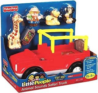 Little People Animal Sounds Safari Truck with Bonus Monkey Figure