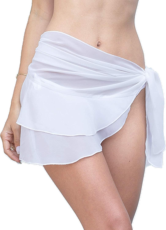 LIENRIDY Women's Swimsuit Cover Up Summer Beach Wrap Skirt Swimwear Bikini Cover-ups